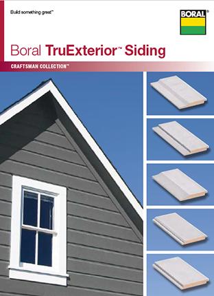 Boral Truexterior Siding Craftsman Collection