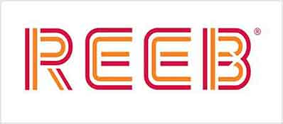 Reeb Doors Logo Grey Border
