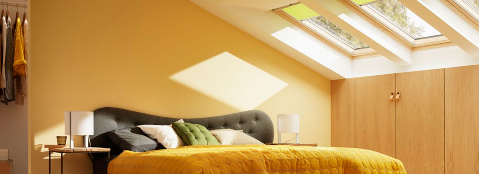 Velux Skylights Header